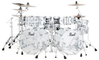 Pearl Wood/Fiberglass Drums