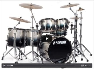 Sonor Ascent Drumset