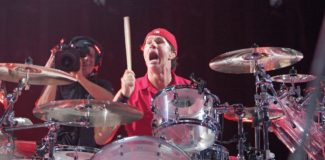 Mit Spaß am Drusmet: Chad Smith