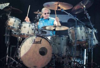 Ian Paice am Drumset