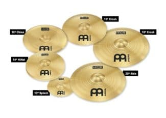 Meinl Cymbals: Neues HCS Super Set Meinl HCS Super Cymbal Set