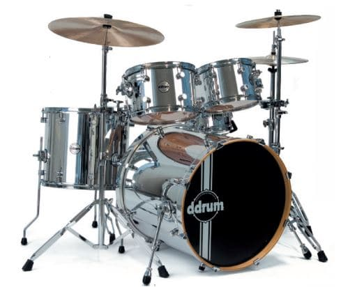 ddrum Reflex Chrome Drums