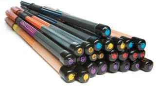 bunte Rods von q-percussion q-sticks