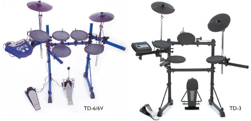 Zwei V Drumsets
