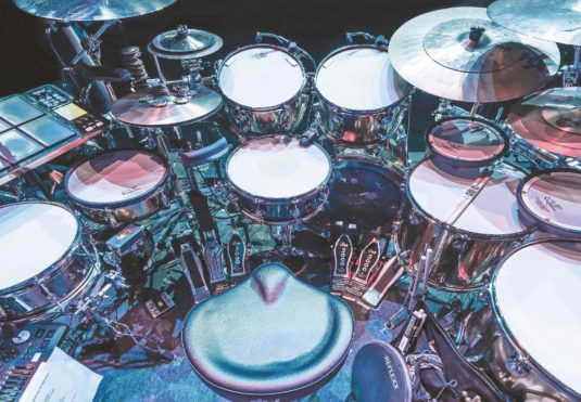 Brendan Buckley Drumset
