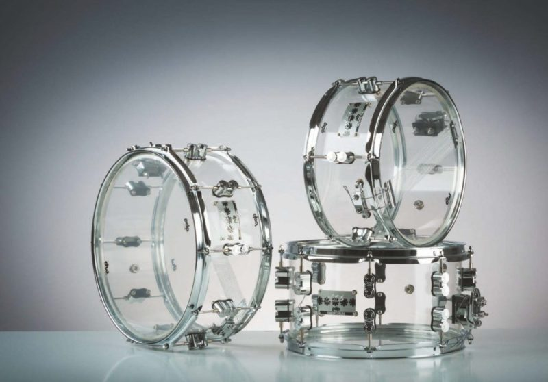Chad Smith Signature Acryl-Snaredrums