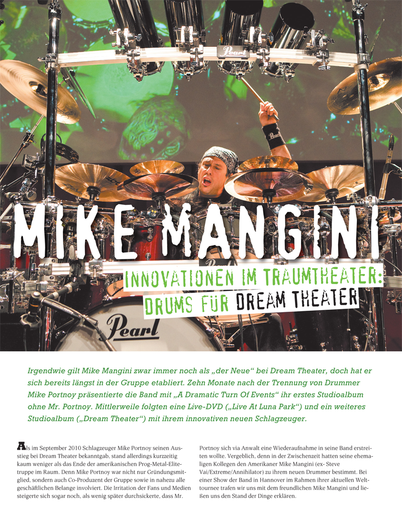 Produkt: Mike Mangini Interview