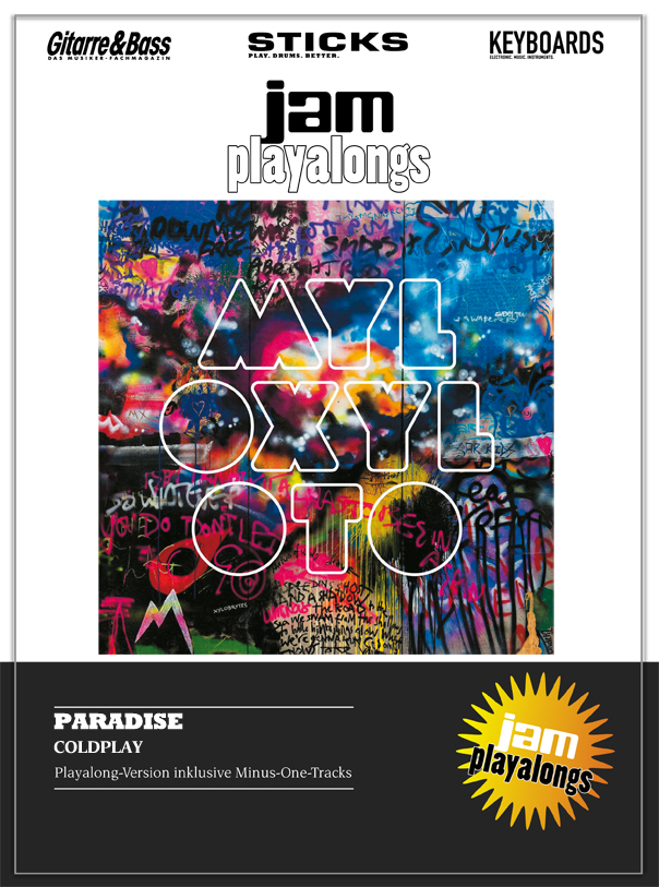 Produkt: Paradise – Coldplay