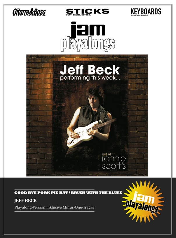 Produkt: Goodbye Pork Pie Hat / Brush With The Blues – Jeff Beck