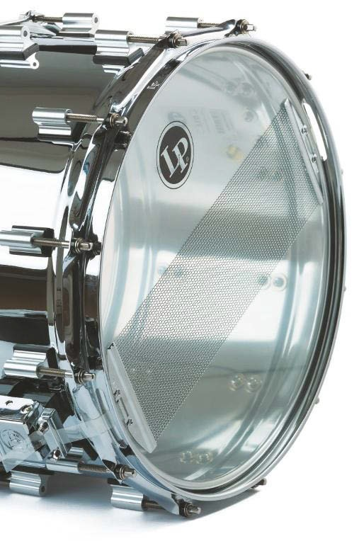 Stainless Steel Snaredrum vom Percussion-Hersteller LP