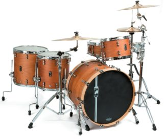 mapex black panther design lab cherry bomb drumset