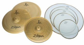 zildjian/aquarian quiet packs